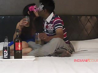 Couple having indian sex Indian couple reenu sachin drinking before sex