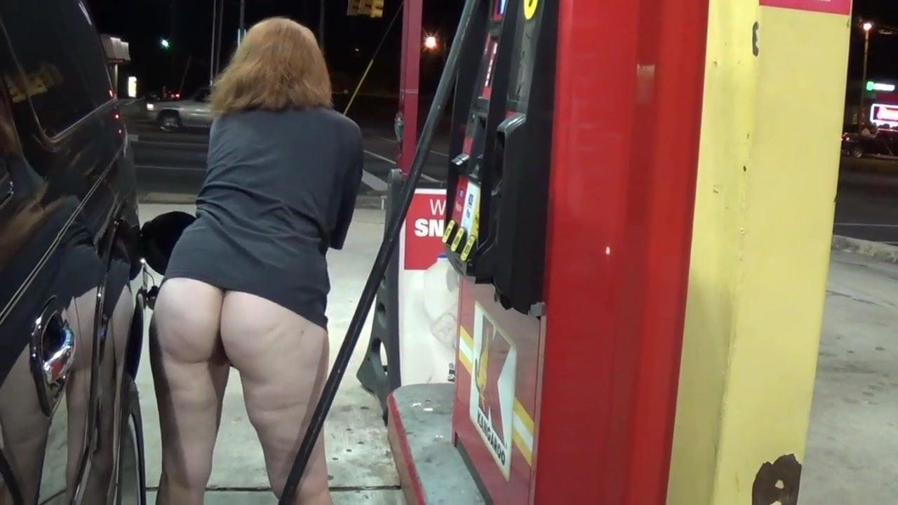 Gas station porn