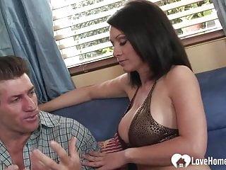 Milf shagging man Milf seduces a guy for some shagging