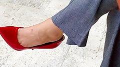 Shoe dangling 3