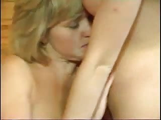 Mature and young strapon sex Mature and younger babe with toys and strapon in 3 scenes