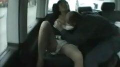 Public sex in a Paris Taxi-Part 1