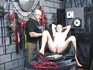 Fucking young female pussy Young female slave experiences bdsm wf