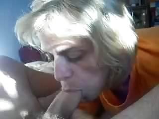 Granny deep throat Down the hatch