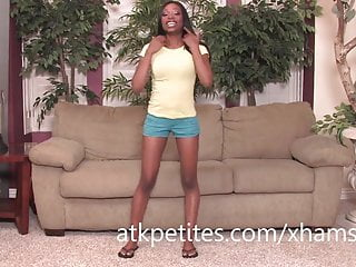 Sweet black girl nude - Courtney foxxx goes to work on her sweet black pussy