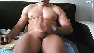 Muscle jerk and ass play