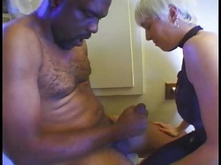 Blonde oral and fucked free videos Black guy gets oral and fucks mature blonde in the toilet