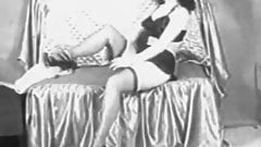 Stunning Lady Shows Her Sexy Beauty (1950s Vintage)