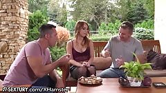 21Sextury Kira Throne Takes a Cock in Both Holes