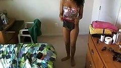 WebCam Girl - Full body, Nipple close up, pussy close up