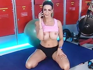 Linsey lohans tits Linsey dm in the rlc gym