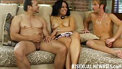 You will love your first bisexual threesome