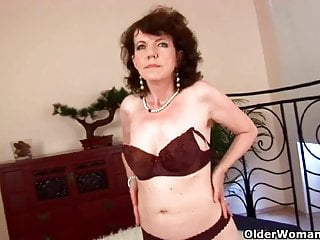 Mature movie old woman Old woman with furry pussy gets fucked