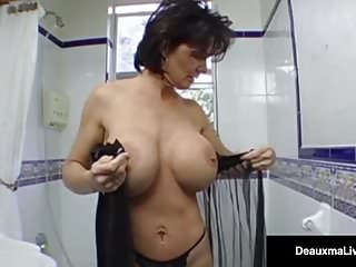 Gay boys sleep over - Mature milf, deauxma, has boy toy over for deep ass fucking