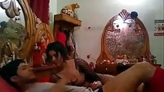 indian couple from lucknow honeymoon vid