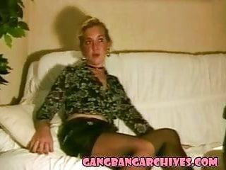 Anal sex gay jizz - Gangbang archive milf in stockings in gangbang jizz party