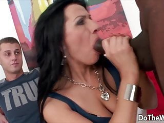 Wives giving blowjob Do the wife - cuckolds watching wives give bjs compilation 6