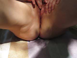 Milf masturbating outside tube Wife masturbating outside