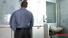 Cruising bathroom at restautant