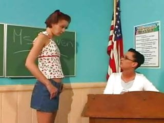 College nude teacher Student fucks teacher with strapon