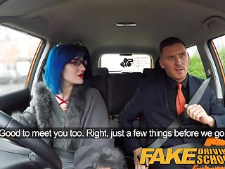 Sexy fake nures videos Fake driving school sexy emo gets her ass pounded
