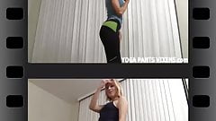 How does my ass look in these new yoga pants JOI