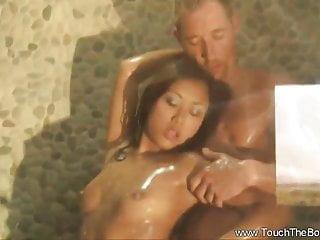 Asia massage porn Exotic massage deep inside asia