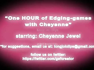 Femdom cheyenne tgp One hour of edging with cheyenne jewel