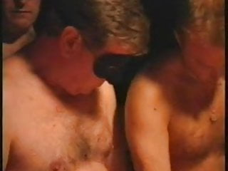Gay old silver hairy bear senior Young, old and senior men french gangbang