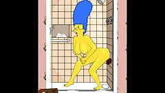 Marge buys a black dildo