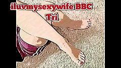 CARTOON VERSION iluvmysexywife BBC Feet Tribute