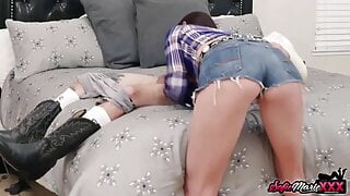 Stepmom Sofie Marie Fucked By Stepson And Husband In 3some
