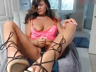 Why do gays wear sandals Milf rubs clit wearing sexy thin strappy wedge sandals.