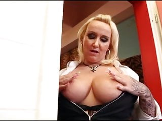 Vicious painful sex - Shower sex with a vicious busty german mature bbw -br