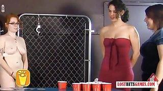 Strip Beer Pong has Never Been so Hot