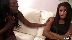 Ebony Ladies Teach Other Sensual Lesbian Sex