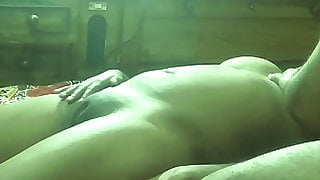 Blond massive tits big round ass fingering fuck shaved pussy