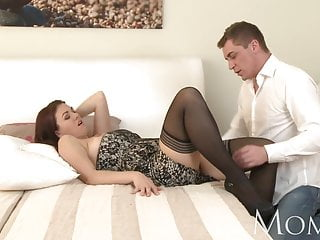 Voluptous mature horny women Mom horny milf is so grateful to finally have a man in her b