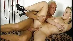 Blonde couple fucking