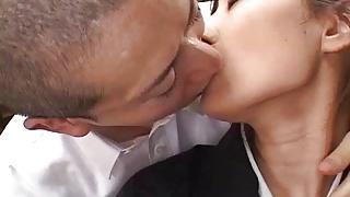 Nana Nanami gets cum on ass cheeks - More at hotajp.com