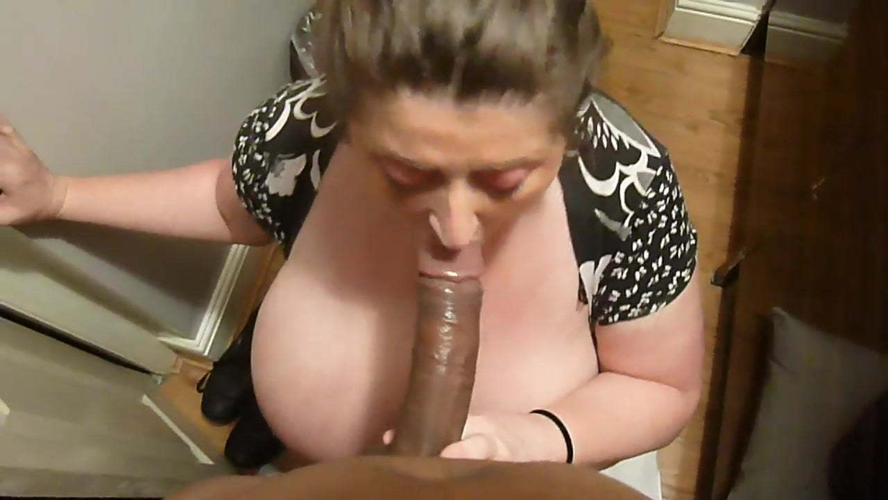 Bbw Takes Big White Dick