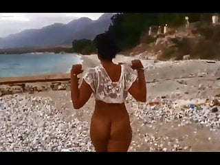 Nude public beach sex Twerking nude in public beach