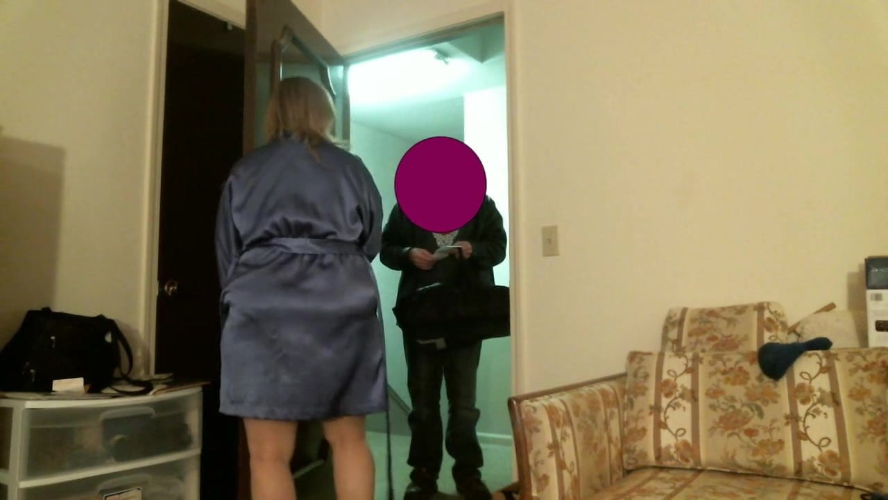 Amateur Fucking Delivery Guy