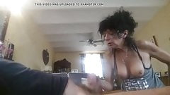 Excited blowjob