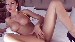 perfect barbie girl on webcam