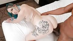 Alt Babe Nikki Zee Cuckolds Husband With Big Black Cock