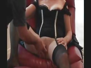 Oldest lady to have sex Sexy mature lady having fun in a chair