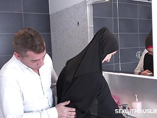 Gay leather muslim - Czech muslim bitch freya dee was surprised in the bathroom.