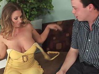 Blond brazilian great fucking Blonde big tits and big butt milf fucks great 2