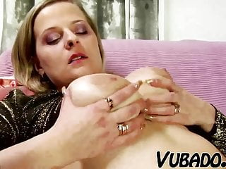 Lady fucked by small boy Mature lady fucks young boy on sofa